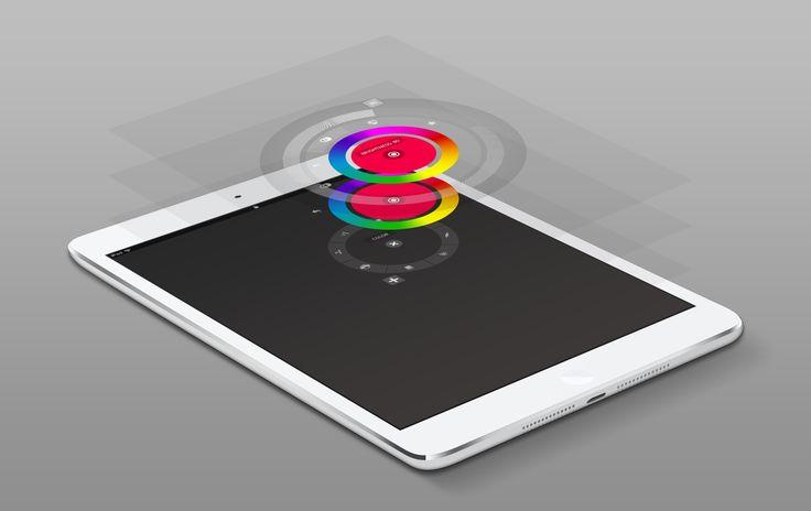 UI, radial menu