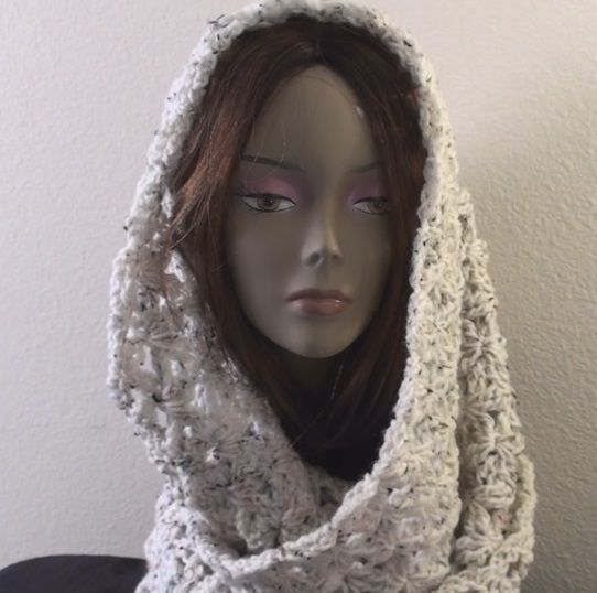 Found on crochetgeekcom Crochet Infinity Scarf Free Directions