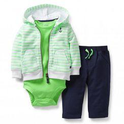 Carter's® Boy's 3-Piece Cardigan Set