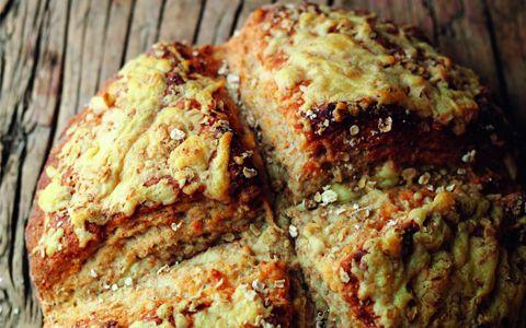Farmhouse Cheese & Oat Bread