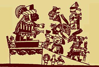La iconografía Mochica viene a ser el conjunto de imágenes encontradas en pinturas murales, orfebrería y cerámica, el cual contiene una serie de mensajes cuyo significado no siempre es fácil de interpretar.
