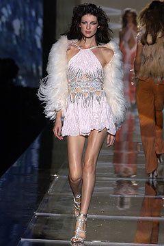 Roberto Cavalli Spring 2004 Ready-to-Wear Fashion Show - Roberto Cavalli, Eugenia Volodina