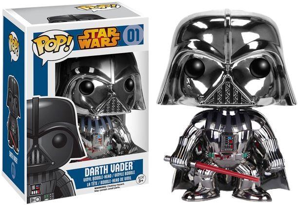Pop! Star Wars - Darth Vader (Chrome)