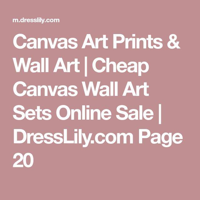 Canvas Art Prints & Wall Art | Cheap Canvas Wall Art Sets Online Sale | DressLily.com Page 20
