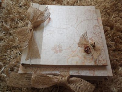Conjunto de álbum y caja