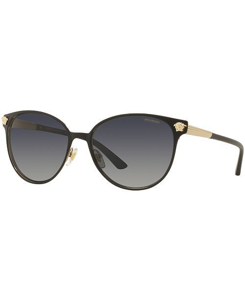 d51541ac8841 Versace Polarized Sunglasses, Versace VE2168 & Reviews - Sunglasses by  Sunglass Hut - Handbags & Accessories - Macy's