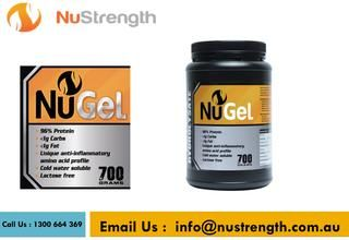 Gelatin Powder Australia  Gelatin additionally retains water and keeps liquid in the stomach related tract, advancing great intestinal travel and solid defecations. If you are looking to get this protein, then NuStrength is the right stop for your needs.  https://nustrength.com.au/