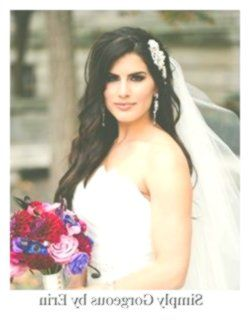 Classic bridal hairstyle long wavy half up ~ Hair by Simply Gorgeous by Erin - A...