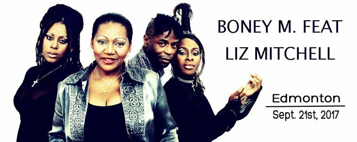 Boney M. is a vocal group created by German record producer Frank Farian. Originally based in West Germany, the four original members of the group's official line-up were Liz Mitchell and Marcia Barrett from Jamaica, Maizie Williams from Montserrat and Bobby Farrell from Aruba. With more then 150 million records sold, they are one of the best-selling artists of all time. #Edmonton #Yeg #YegMusic #Alberta