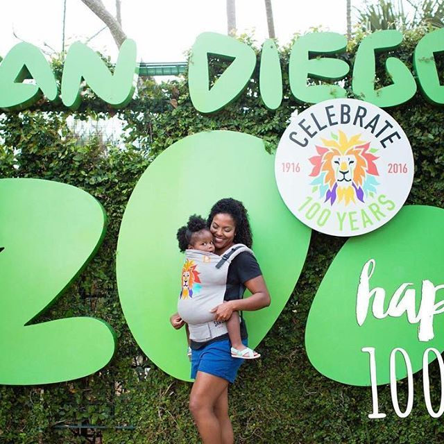 Happy Birthday @sandiegozoo! Today is officially the 100th birthday of our local Zoo! We absolutely love spending time at there. While in a carrier, our littles can see the incredible animal sights and discover all there is to see and learn. Do you enjoy babywearing at your local zoo? #babytula #tulababycarriers #babywearing #sdzoo