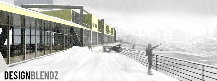 Revit Snow Rendering Viaduct
