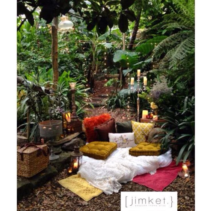 .. a bohemian inspired setting we created for an enchanted engagement proposal ..