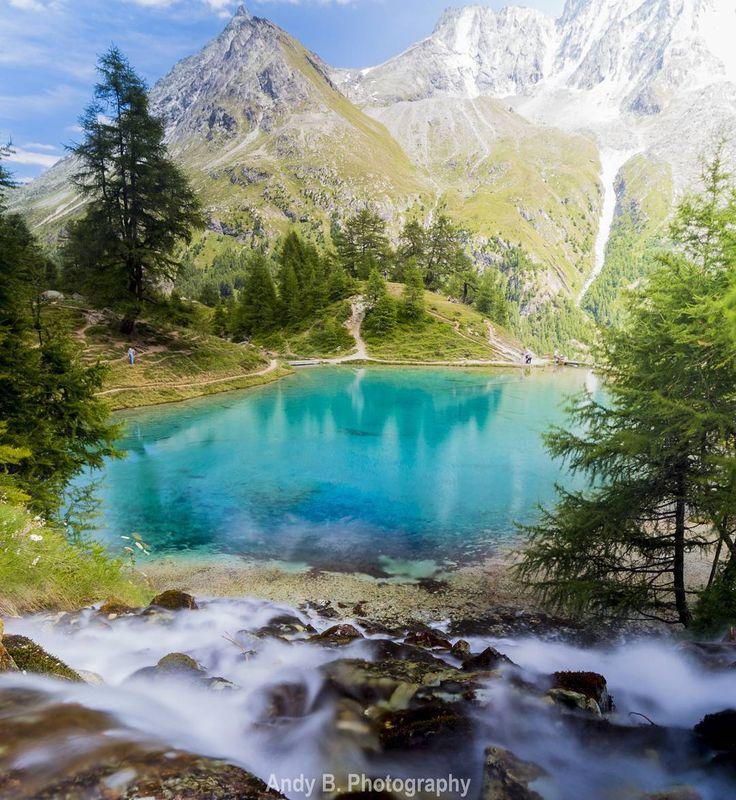 lac Bleu Arola Valais Wallis