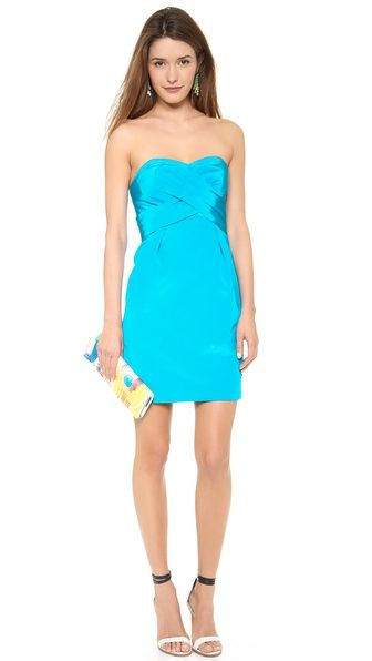 Lord And Taylor Shoshanna Dresses Shoshanna Kira Strapless Dress