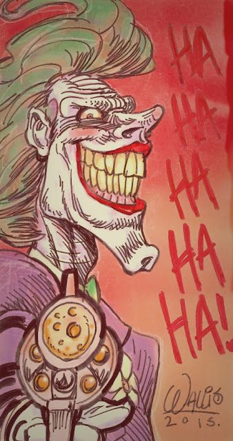 WARNER WALLIS ART: Joker  #joker #comics #dc #dccomics #batman