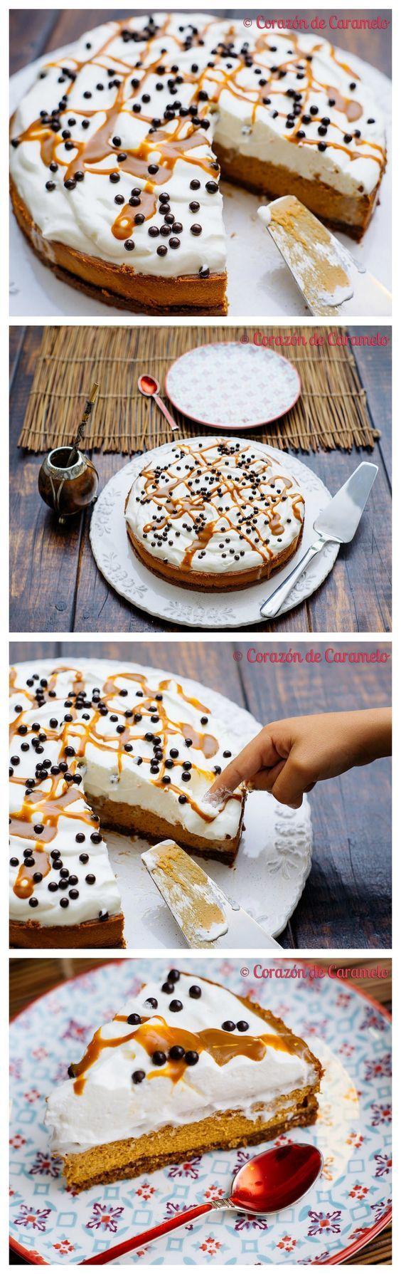 Tarta de dulce de leche - http://www.corazondecaramelo.es/