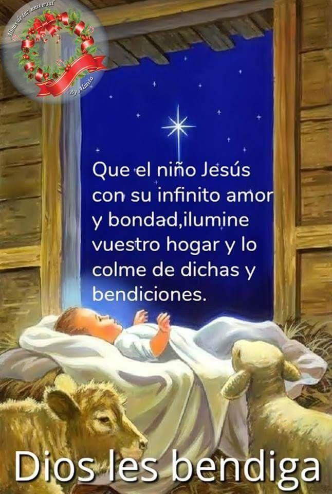 Fotos De Navidad Del Nino Jesus.Divino Nino Jesus En Ti Confio Bendiciones De Dios