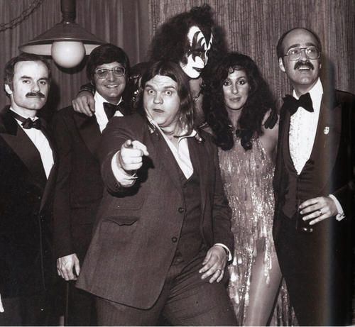 Gene Simmons, Cher, Meat Loaf