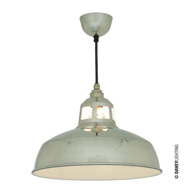 Davey Lighting,Spun Pendants ,7199 Aluminium Pendant
