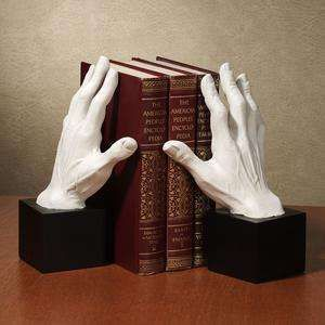 might well find this pair of bookends particularly handy....