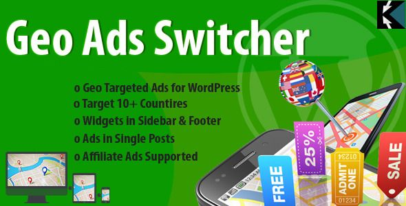 Geo Ads Switcher Plugin: Geo Targeted Ads