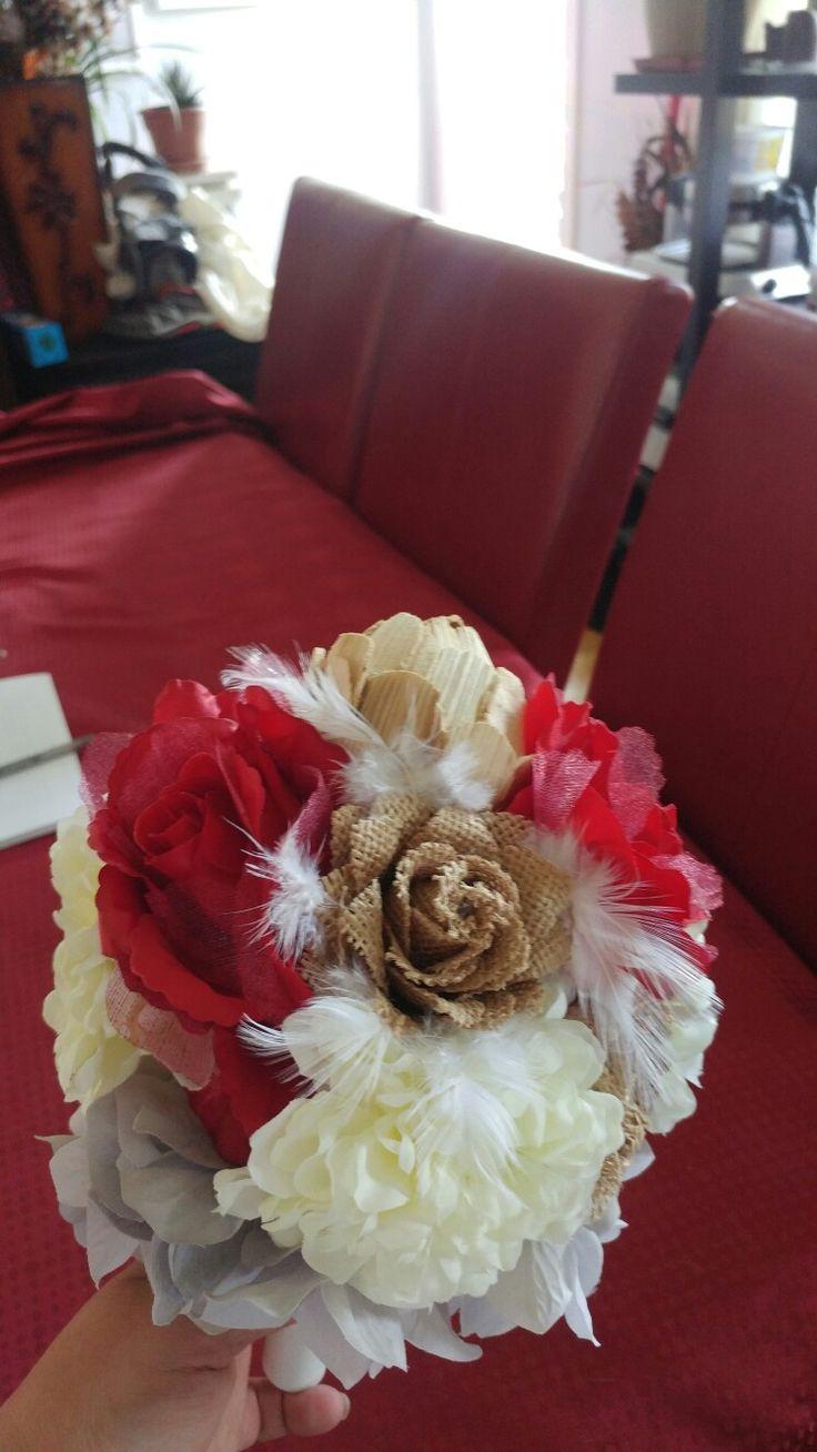 Petit bouquet demoiselle d'honneur!!!😊