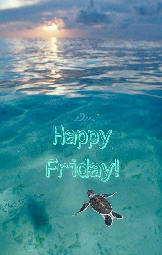 Happy Friday beach