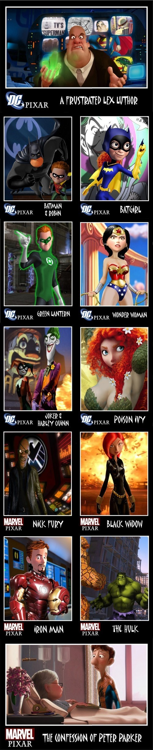 All Future Superhero Movies Should be Given to Pixar