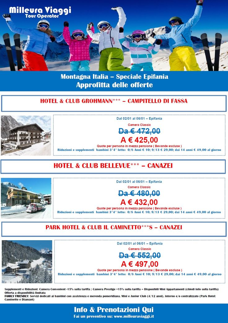 NEVE | Speciale Epifania in Trentino - Prenota Prima -10%