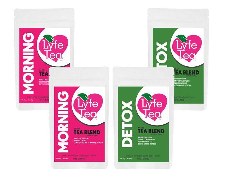 Lyfe Tea- The Best Weight-loss Tea and Detox Tea! Amazing Reviews!