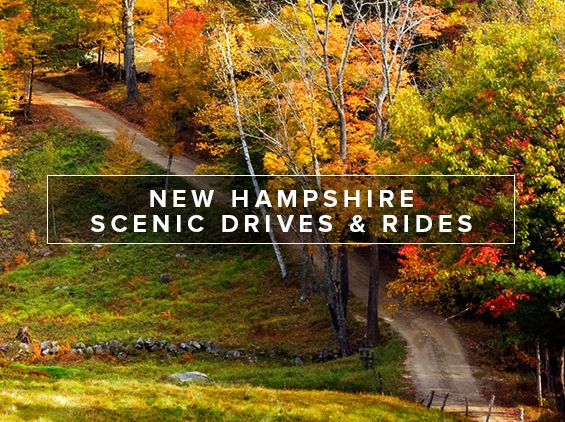 New Hampshire is home to some of the most stunning scenic drives with rainbow-colored foliage and breathtaking mountain views year round. Explore your options and plan your getaway today!