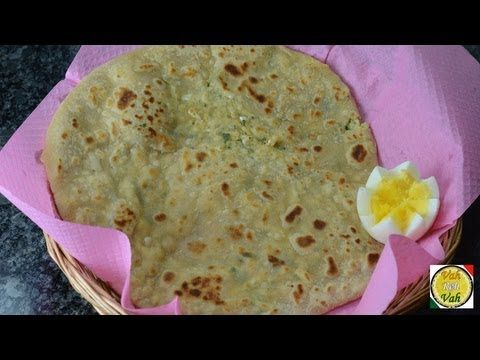 egg paratha recipe vah chef butter chicken