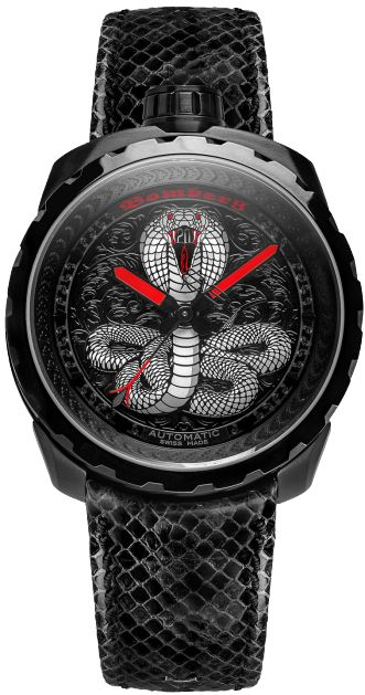 BOLT-68 Black Cobra Automatic - BOMBERG - Defiant & Provacative Swiss Made Watches