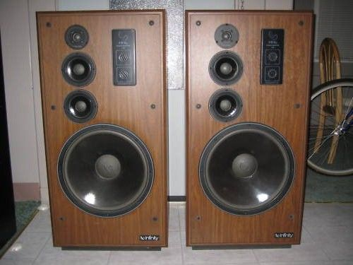 Infinity Sm 150 1 Speakers Vintage Electronics