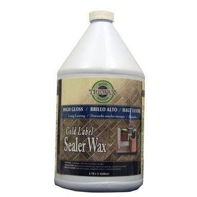Trewax Vinyl And Linoleum Gold Label Wax Gloss Sealer 1