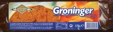 Groninger koek. main components are rye and molasses.Is still available/ Groninger koek. Hoofdbestanddelen zijn rogge en stroop. Is nog verkrijgbaar.