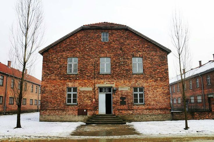 --- Photo by @mizmorlayla --- Auschwitz I. Block 20. It was a part of the camp infirmary especially for prisoners infected with contagious diseases like typhus. In the room on the left side on the first floor SS medical staff killed prisoners with phenol intercardiac injections.