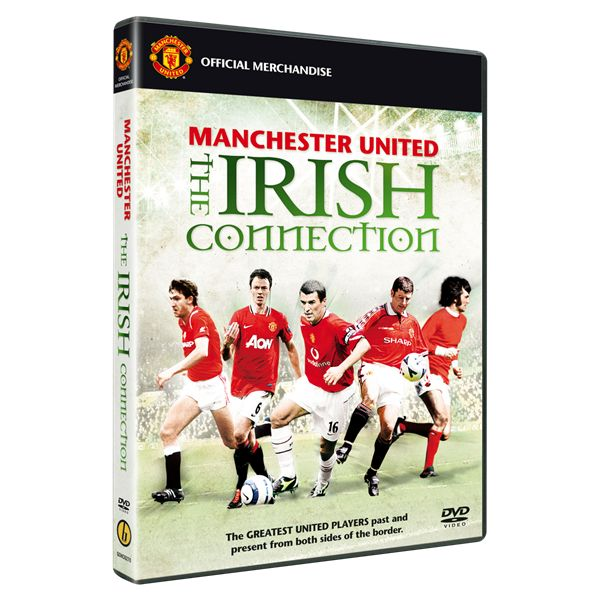 Manchester United The Irish Connection DVD Bombo Sports NIP 2011 MANU Red Devils