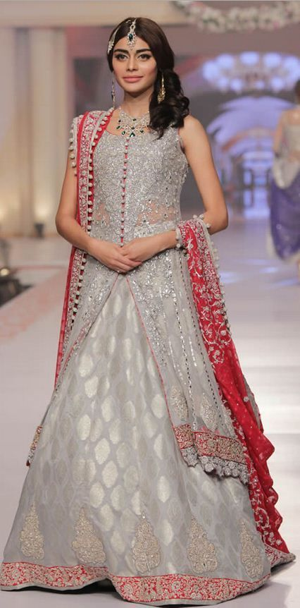 Latest Wedding Bridal Sharara Collection 2016-2017
