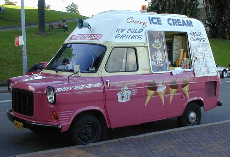 """The delivery vans of ice cream sellers ringing a bell to announce their imminent arrival, eventually led to the ubiquitous strains of """"Greensleeves"""" from the Mr.Whippy vans."""
