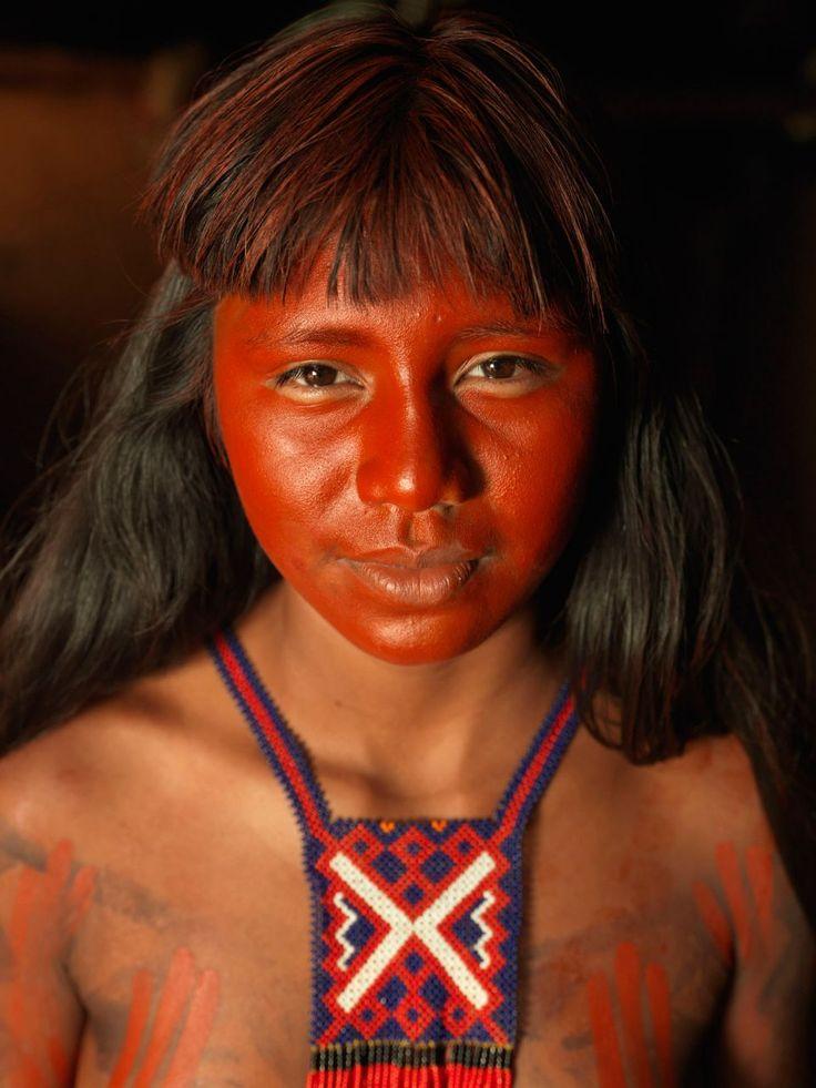 Portraits of Kraho Indigenous. Guardians of the Cerrado ...