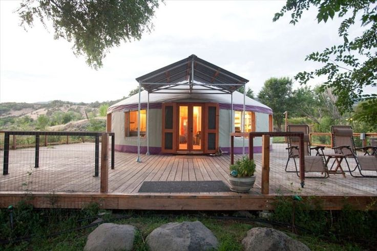 Yurt In Paonia Co Dream Home Ideas Pinterest