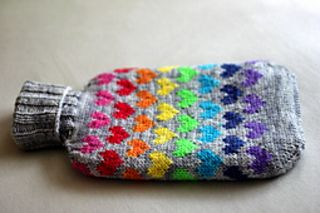 Water Bottle Cover - free pattern on Ravelry.com #knitting