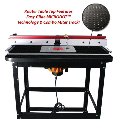 Professional Router Table Package #4 - With Triton Router