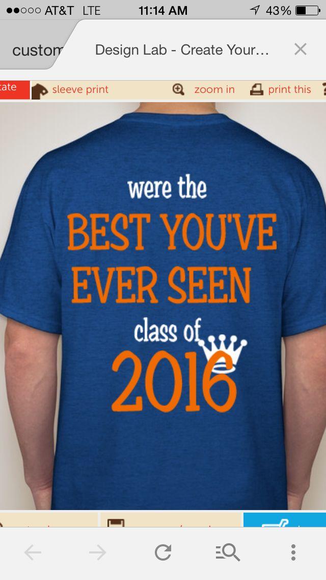 class of 2016 t shirt