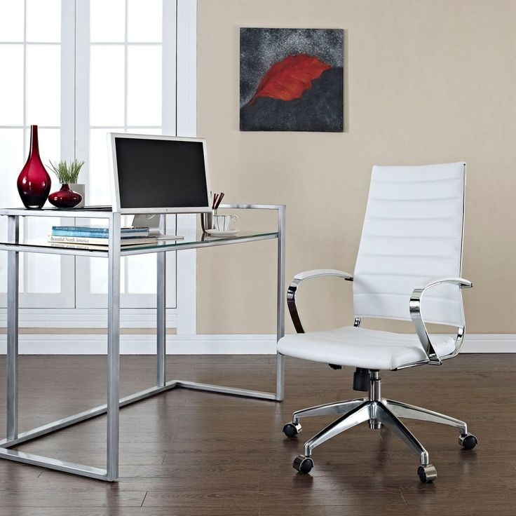 Modway Jive High-Back Office Chair - Fabulous on so many levels, the Modway Jive High-Back Office Chair supports healthy posture while steering you well clear of the stylistic doldrums....