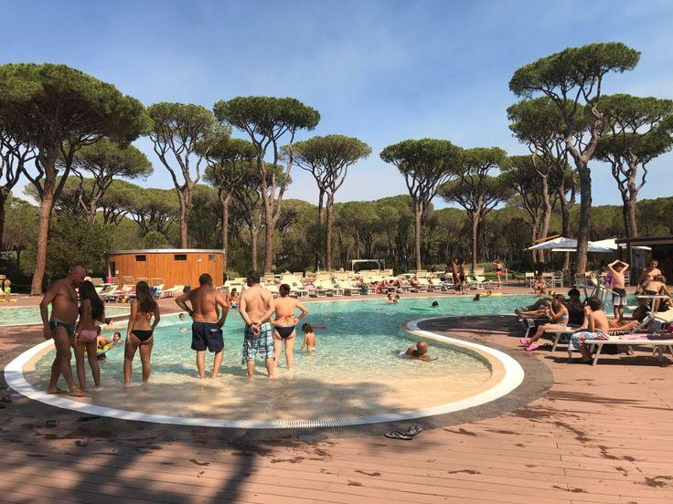 Camping Village Cieloverde un pomeriggio in piscina nella splendida Maremma