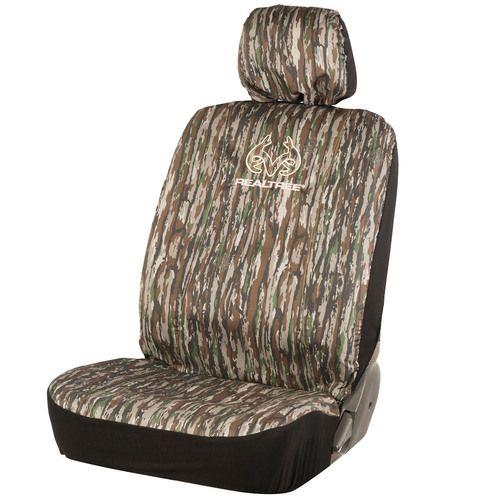 Realtree Exclusive Original Camo Low Back Bucket Seat Cover