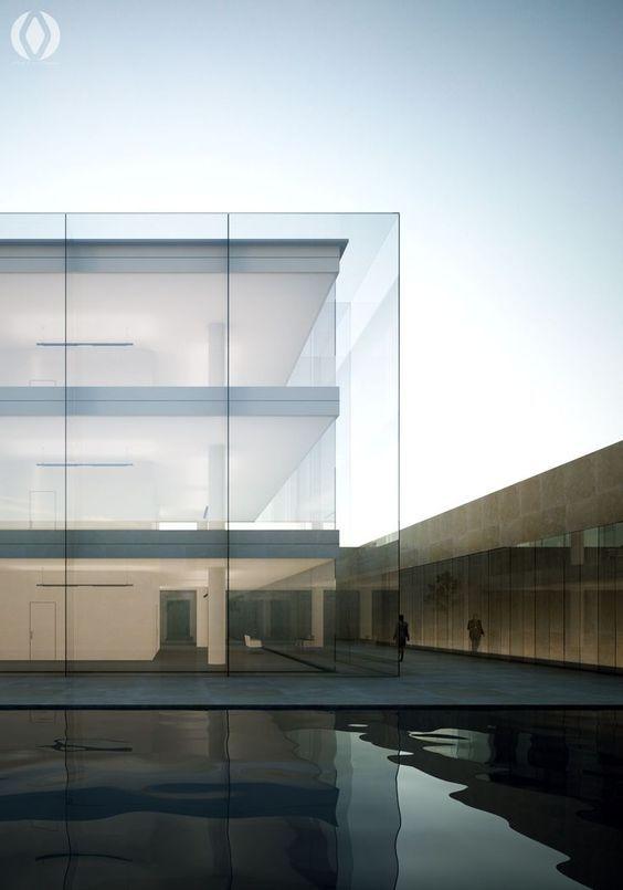 les 23 meilleures images du tableau maisons r alis es en verre sur pinterest architecture. Black Bedroom Furniture Sets. Home Design Ideas