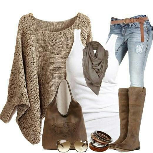 I think I would like to try this outfit, including jeans
